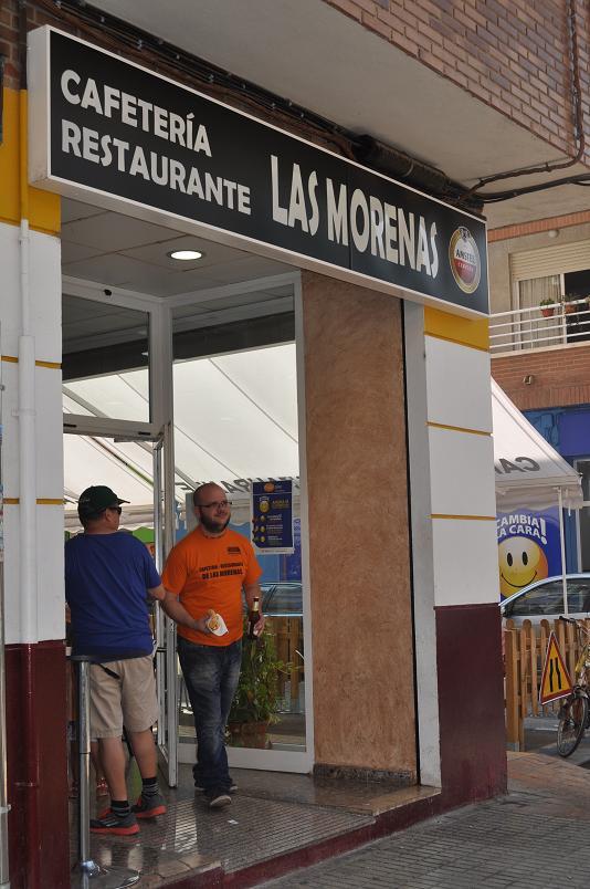 CAFETERÍA-RESTAURANTE LAS MORENAS