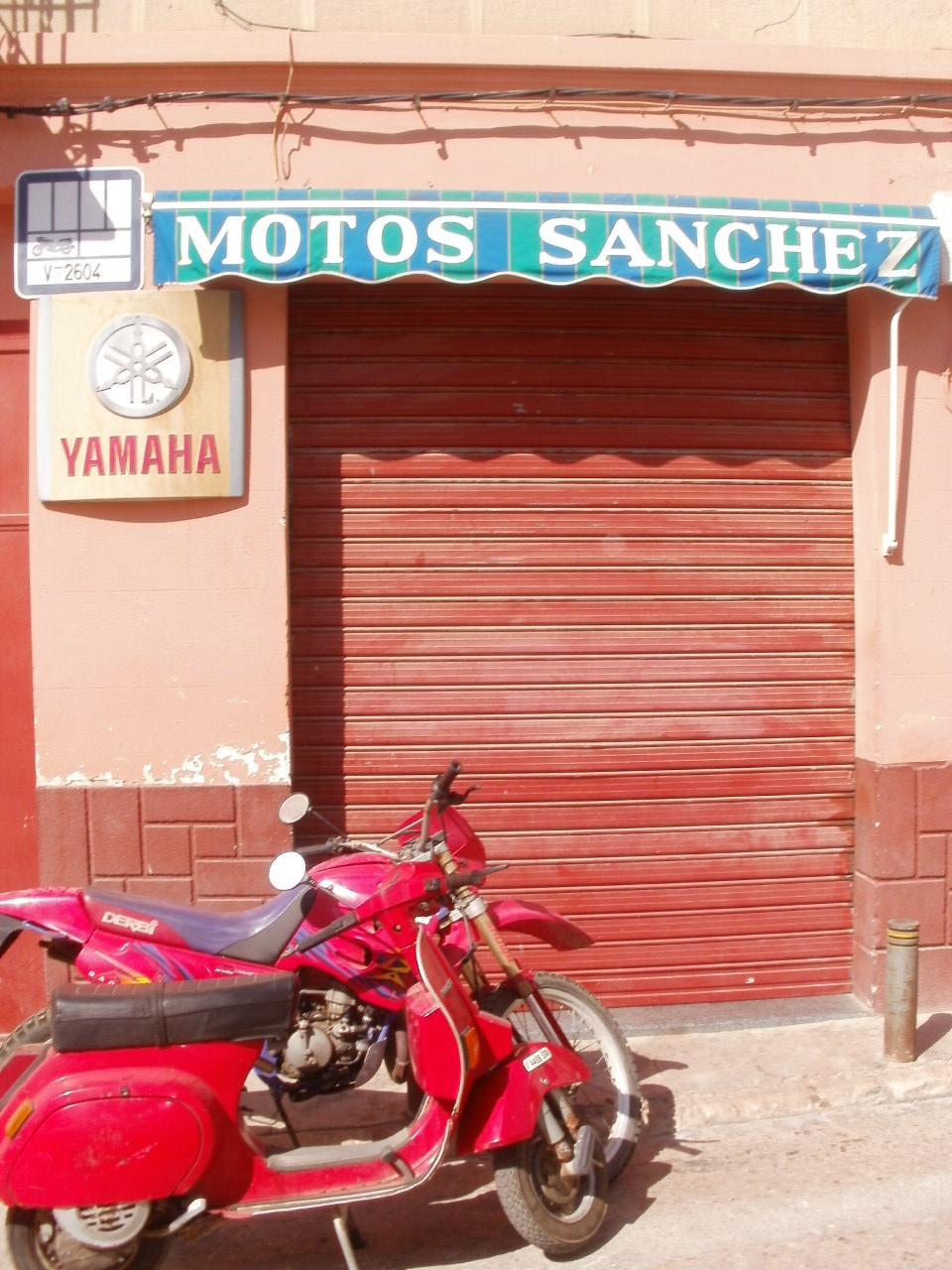 MOTOS SANCHEZ REPARACION Y VENTA