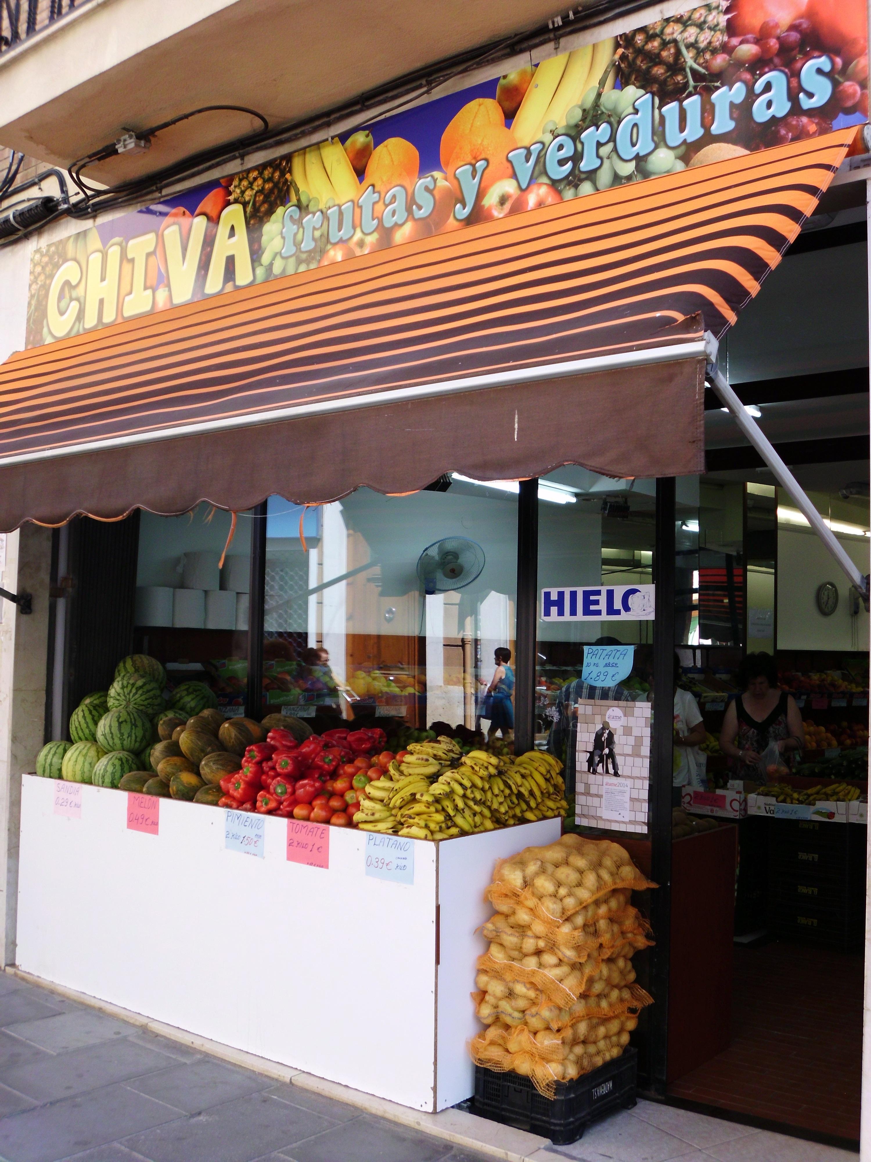 FRUTAS CHIVA