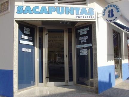PAPELERIA SACAPUNTAS