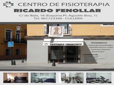 Ricardo Fenollar - Centro de fisioterapia
