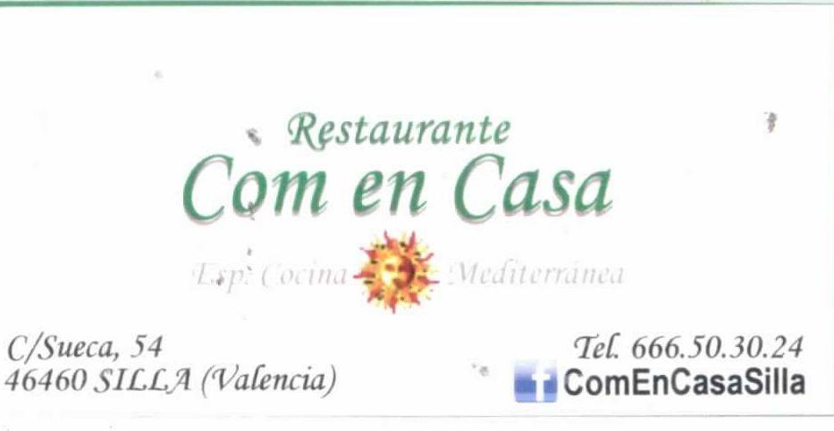 RESTAURANTE COM EN CASA