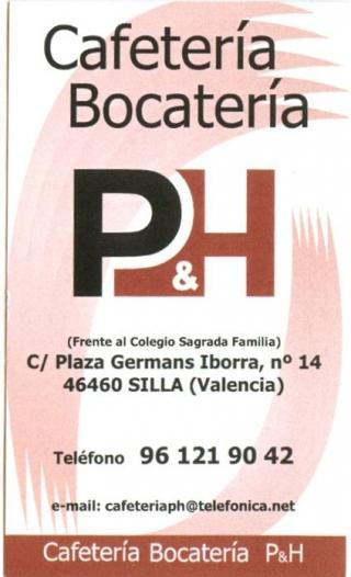 CAFETERIA-BOCATERIA P&H