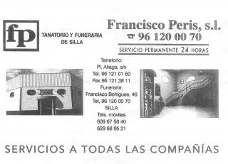 L'ALIAGA. TANATORIO Y FUNERARIA FRANCISCO PERIS, S.L.