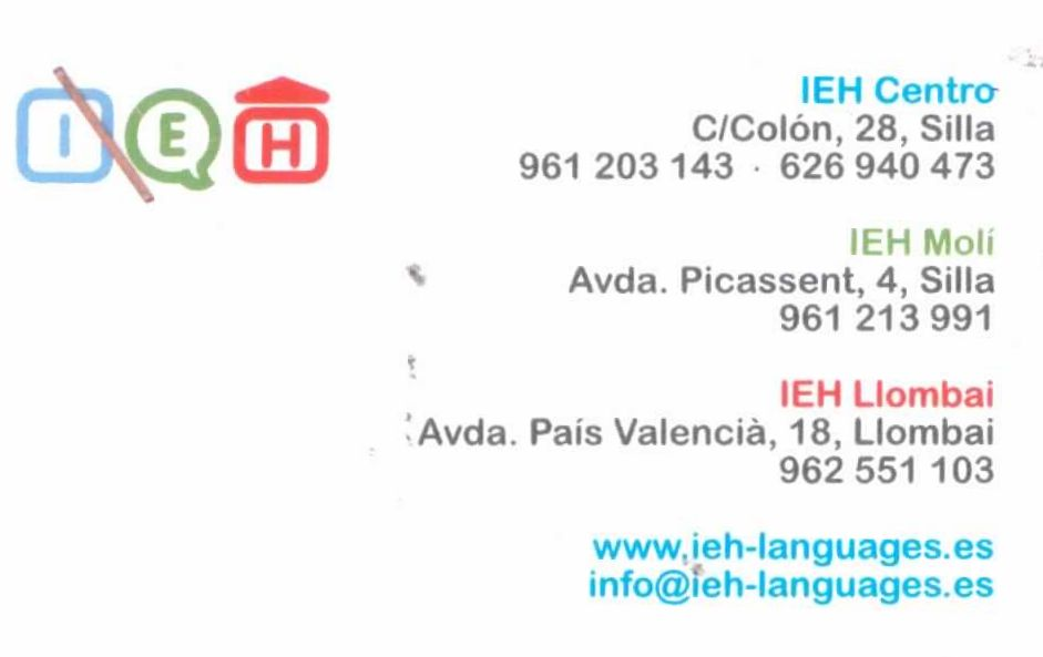 IEH LANGUAGES MOLÍ