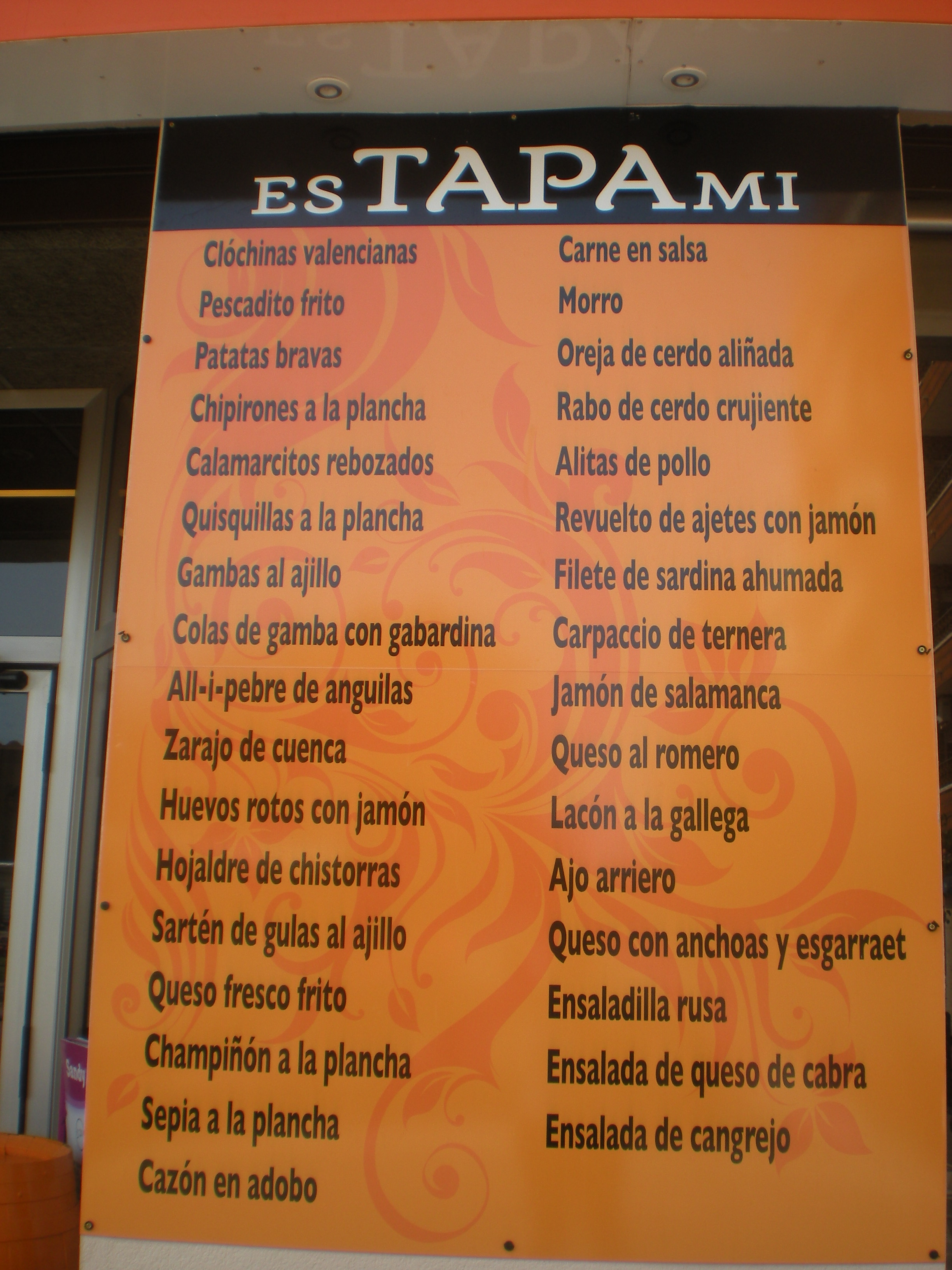 RESTAURANTE ESTAPAMI