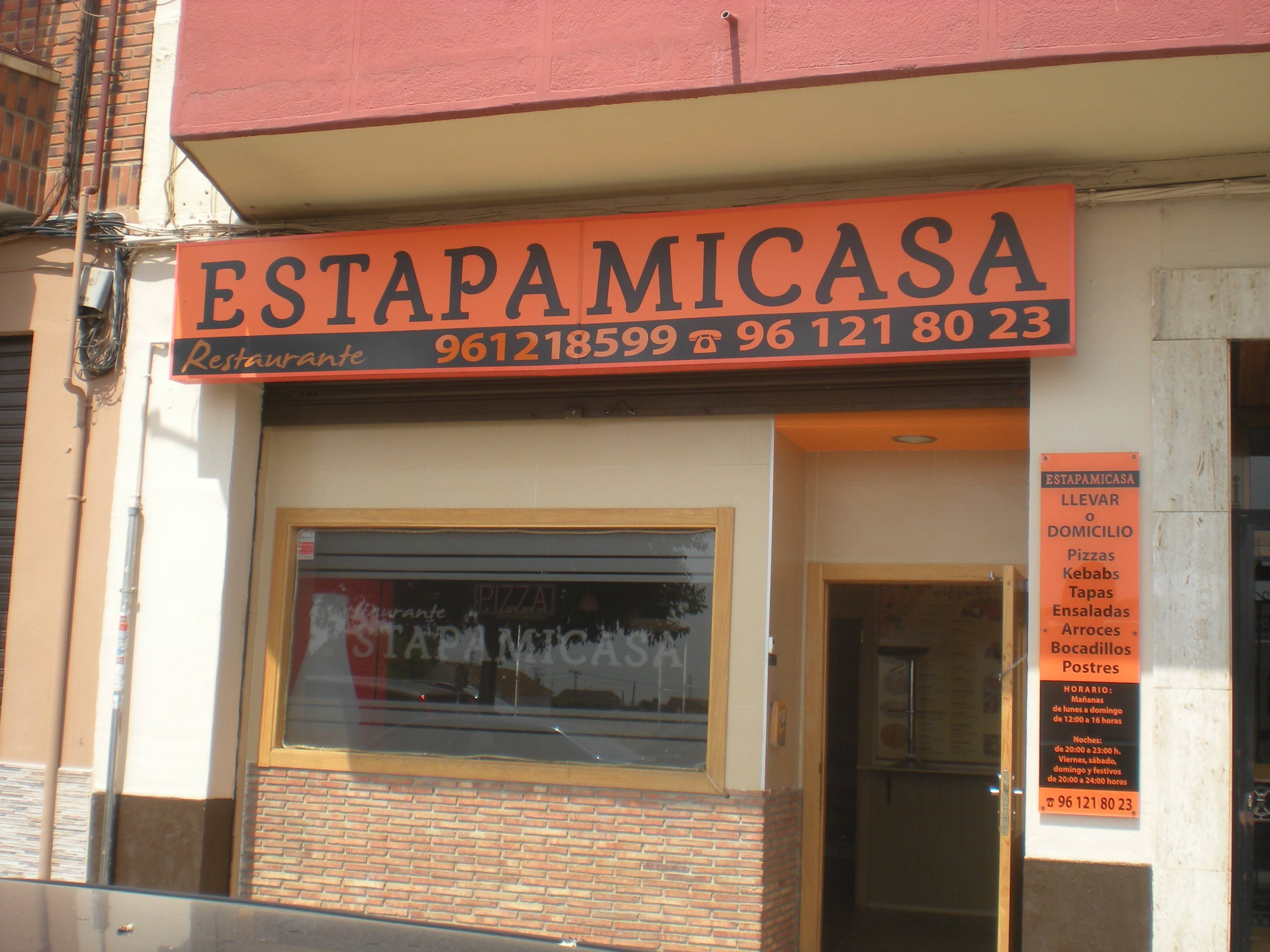 RESTAURANTE ESTAPAMICASA