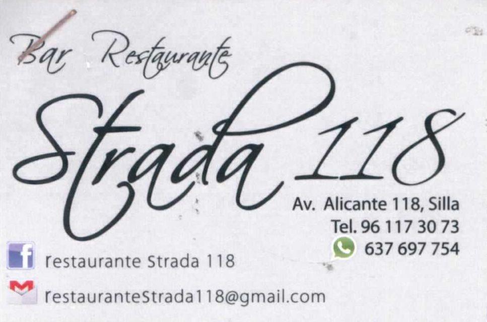 BAR RESTAURANTE STRADA 118
