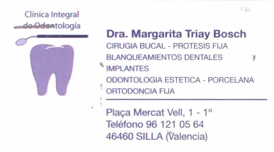 CLINICA INTEGRAL DE ODONTOLOGIA