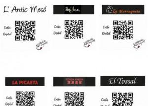 Les cartes de bars i restaurants de Montserrat es digitalitzen i incorporen el valencià
