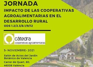 05/11/2021 JORNADA IMPACTE DE LES COOPERATIVES AGROALIMENTÀRIES EN EL DESENVOLUPAMENT RURAL
