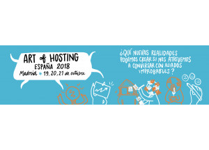 Invitación al Art of Hosting Madrid: Tejiendo con aliados improbables