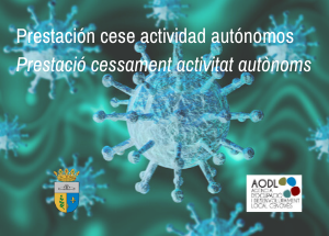 COVID19 - Prestació extraordinària per cessament d'activitat per als autònoms