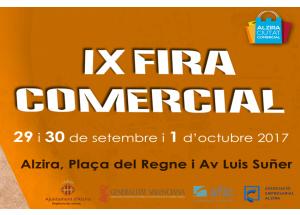 IX FIRA COMERCIAL #ALZIRA OBERTA