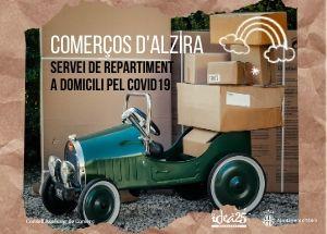 COMERCIOS DE ALZIRA: Servicio de reparto a domicilio COVID-19