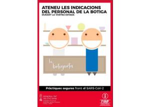 Preguntas y respuestas más frecuentes y carteles de prácticas seguras en el comercio. Declaración del Estado de Alarma por el Coronavirus. Actualizado a 25 de mayo de 2020.