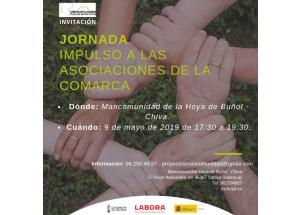 Yátova 9 de maig: Jornada Impuls Associacions de la Comarca Hoya de Buñol-Chiva