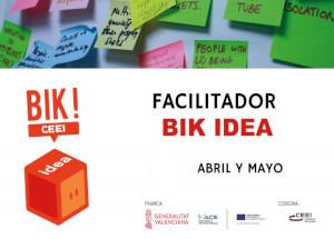 Sesiones formativas para facilitadores BIK Idea
