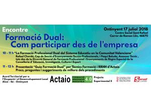 Jornada informativa Formació Dual: com participar des de l'empresa