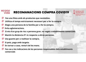 RECOMANACIONS COMPRES COVID'19