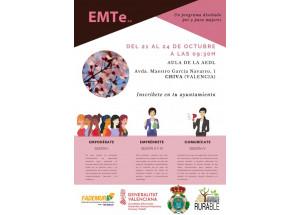 21 de octubre en Chiva curso ''Tejiendo redes entre mujeres para empoderarte, emprender y conectar''
