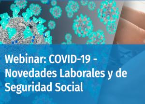 Webinars sobre efectes del coronavirus en matèria laboral i de seguretat social
