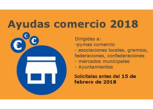 AYUDAS COMERCIO 2018