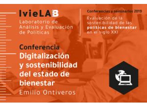 20 de juny, a València conferència sobre Digitalització i sostenibilitat de l'estat de benestar