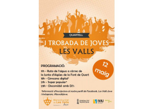 I TROBADA DE JOVES DE LES VALLS, 2018