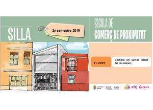 Nova sessió Escola de comerç 2019: Gestiona les xarxes socials del teu comerç