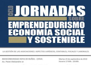 JORNADAS EMPRENDEDURISMO, ECONOMÍA SOCIAL Y SOSTENIBLE