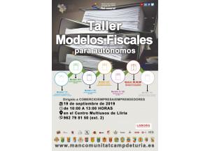 TALLER ELS MODELS FISCALS PER A AUTÒNOMS
