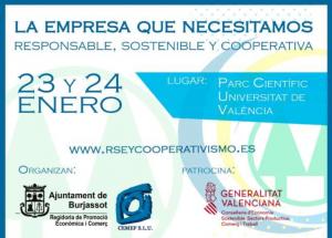 Congrés Nacional de Responsabilitat Social i Cooperativisme a Burjassot