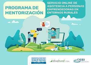 Programa de Mentorització Empresarial gratuïta i on-line en municipis rurals de València
