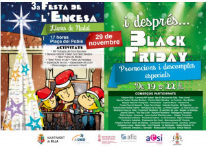 3ª Festa de la Encesa i Black Friday