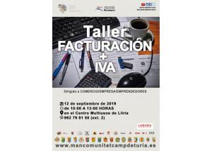TALLER FACTURACIÓ + IVA
