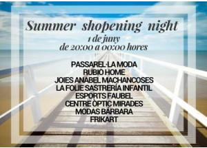 Summer Shopening Night