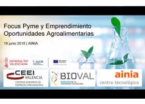 Focus Pyme y Emprendimiento Oportunidades Agroalimentarias